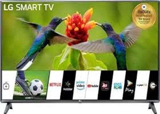 "LG 55"" 4K UHD SMART TV,ALEXA VOICE CONTROL,MAGIC REMOTE,WI-FI,4K HDR-55UN7300-BLACK image 1"
