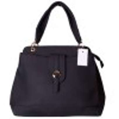 Stylish 4 in 1 Black Hand Bag image 2