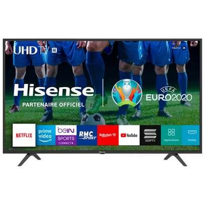 Hisense 50 smart android  4k frameless tv image 1
