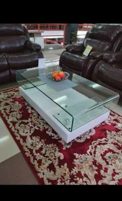 Tough glass coffee table