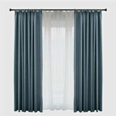 plain curtains to image 2