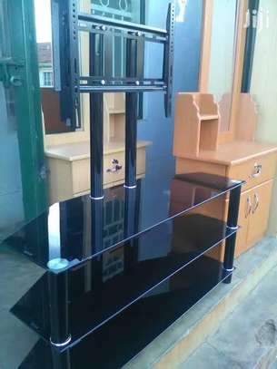 Tempered Glasstop tv stands image 3