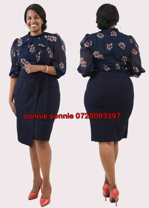 Turkey office casual dresses classy high quality image 1