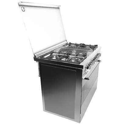 4 GAS+ 2 ELECTRIC STAINLESS STEEL ELBA COOKER- EB/174 image 1