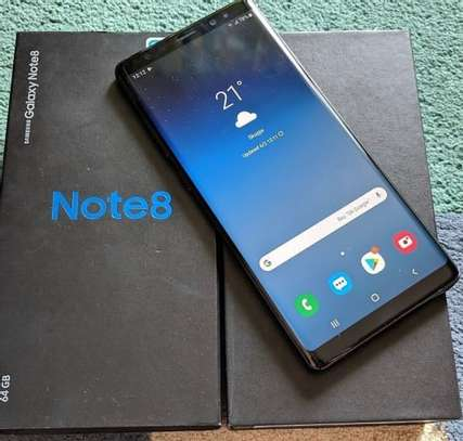 Samsung note 8 *256gb* image 1