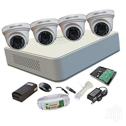 Four 4 Hikvision Complete CCTV..complete image 1