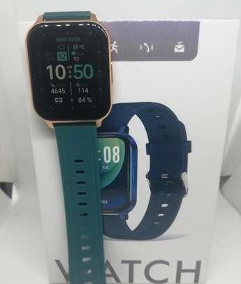 2021 Green Q18 Reloj Inteligente Smart Watch Ip68 Waterproof Fitness Tracker image 4
