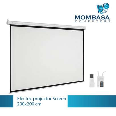 Electric Projector Screen 200x200 image 2