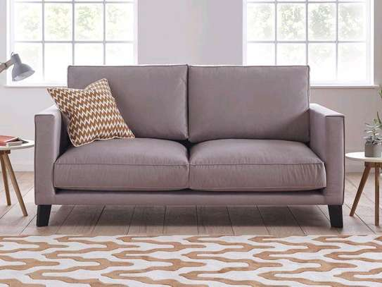 Two seater sofas/Modern pink sofas/simple sofa designs image 1