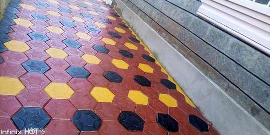 Coloured Paving Blocks / Cabros image 1