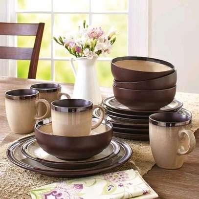 24pcs Ceramic Dinner Set image 8