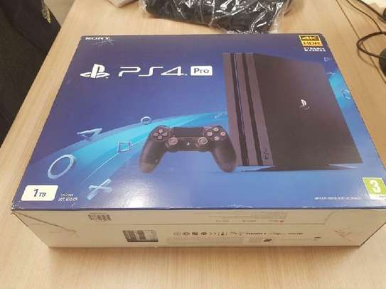 brand new sony ps4 pro game console