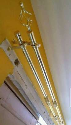 Curtain rods(2m single rod) image 1