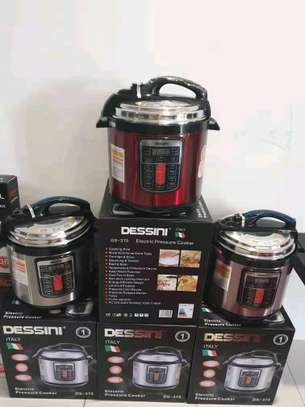Electric dessin pressure cookers image 1