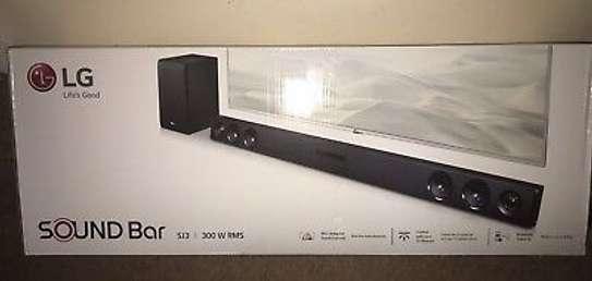 LG SJ3 - 2.1Ch Sound Bar - 300W - Black-NEW image 1