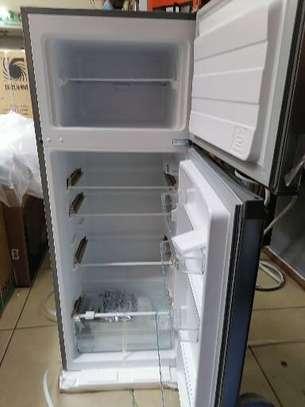 Mika mrdcd 207ss 201 litres double door fridge image 1