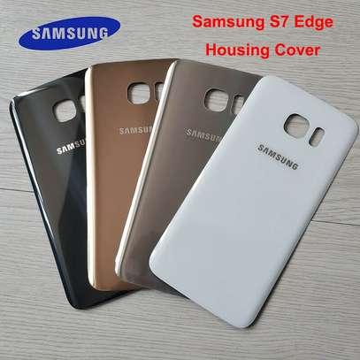 Battery Cover Replacement Back Door Housing Case For Samsung Galaxy S7 Edge image 5