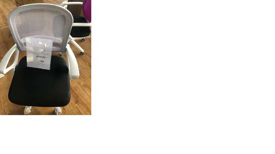 Office chair - Whitemesh image 1