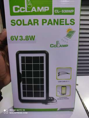 Universal solar phone charger.can charge all types of phones. image 3