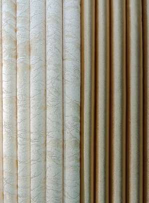 curtains gold with yellow heavy fabric image 1