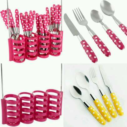 24 pieces stainless steel image 1