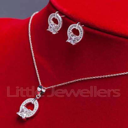 Sterling silver necklace sets perfect for mother's day!! image 2