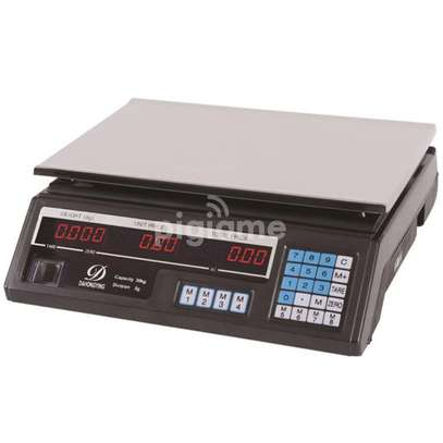 Digital weighing scale image 1