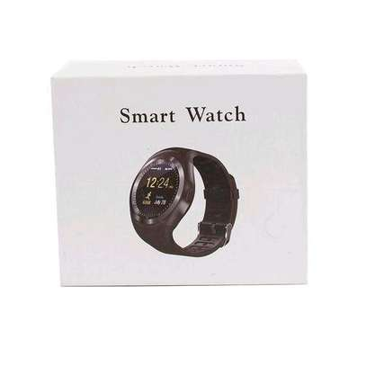 Y1 Smart Phone Watch With Free Bluetooth - Black image 3