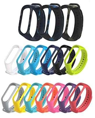 Replacement Silicone Sports Soft Wrist Strap Bracelet Wristband for XIAOMI Mi Band 3/4 image 3