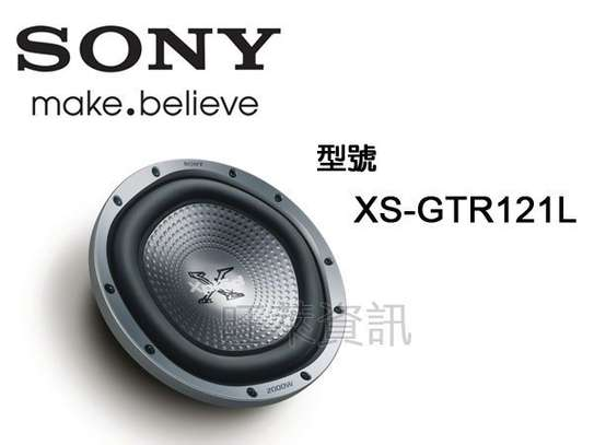 Subwoofer Sony Xs-gtr121ld  12inch Double Coil 2000w image 1