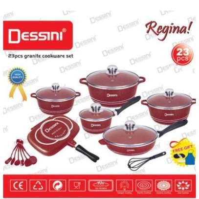 Dessini 23Pcs Granite Non-stick Cookware Sets & Frying Pan image 2