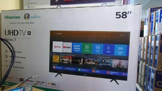 HISENSE 58 INCH SMART 4K TV image 1