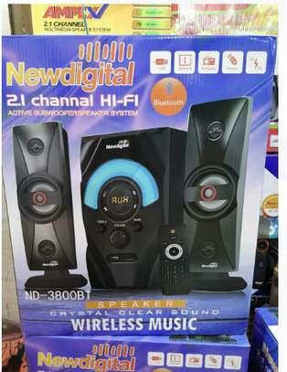 New digital 2.1 Channel HI Fi 10000 Watts image 1