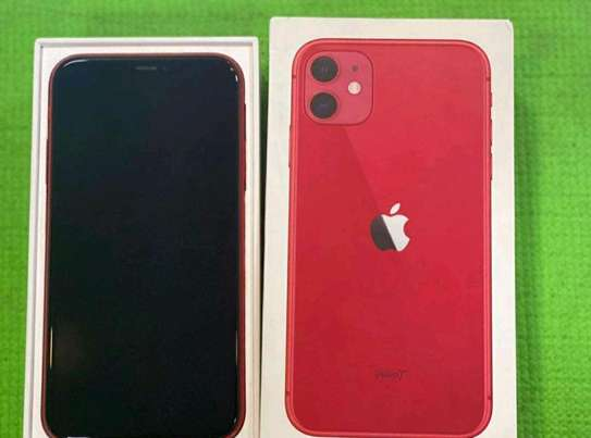 Apple Iphone 11 Red 256 Gigabytes image 2