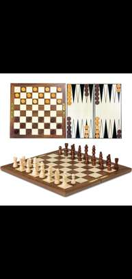 *3 In 1 (Chess, Checkers, Backgammon) image 1