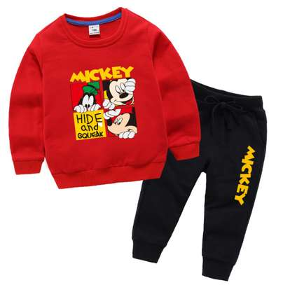 Kids Mickey Tracksuits