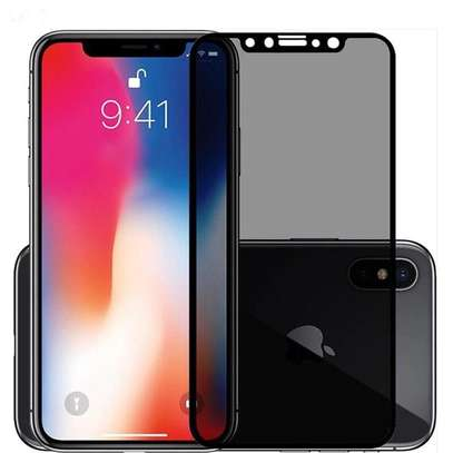 5D Full Glue Anti-spy Privacy Screen Protector For iPhone X Xs XR XS Max image 5