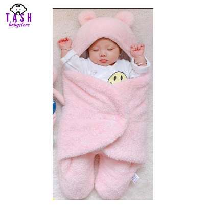 Baby Swaddle Wrap Blanket and Baby Sac-Pink