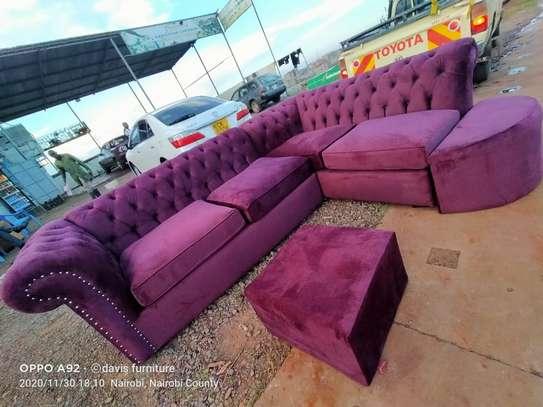 Chesterfield L-shape Sofa image 1
