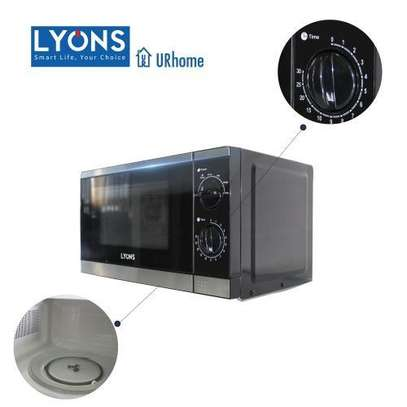 Lyons YW Microwave Oven Glass, 1200W, 20L - Black image 2