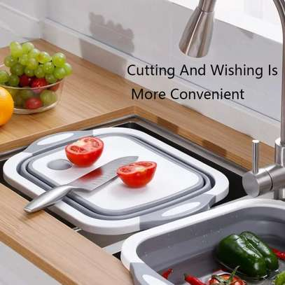 Foldable chopping board /drainer image 2
