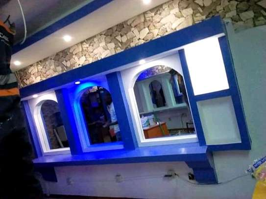 Interior decoration gypsum