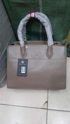Malinda Paris genuine leather handbag set, image 4