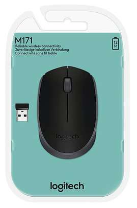 Logitech M171 Wireless Mouse, 2.4 Ghz With USB Mini Receiver image 2
