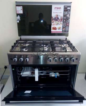 MIka 5 Gas Burner, Electric Oven Cooker