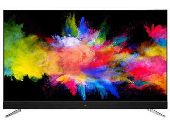 55 inch TCL smart android TV 4k(Onkyo) image 1