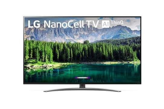 LG 49 Inch HDR 4K UHD Smart NanoCell IPS LED TV 49SM8100PVA Product  by LG image 1