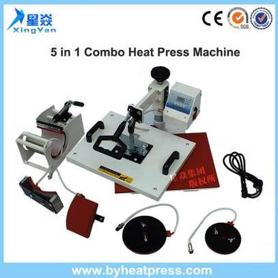 Generic 8 in 1 Combo Heat Press Machine image 1