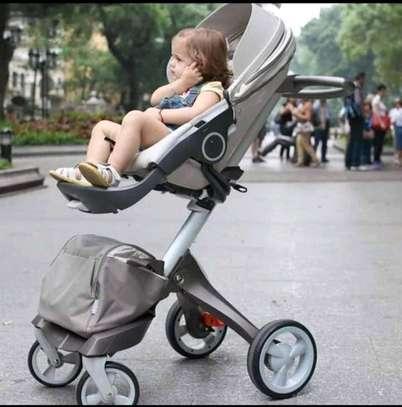 LUXUROUS TRAVEL SYSTEM - Premium Quality Stroller, A Travel Bag & Bassinet image 2