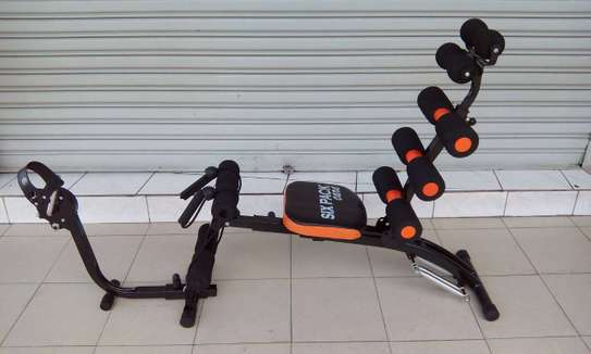 Seven & Six Pack 22 in 1 Wonder Core Exercise Machine with Bike Cycles